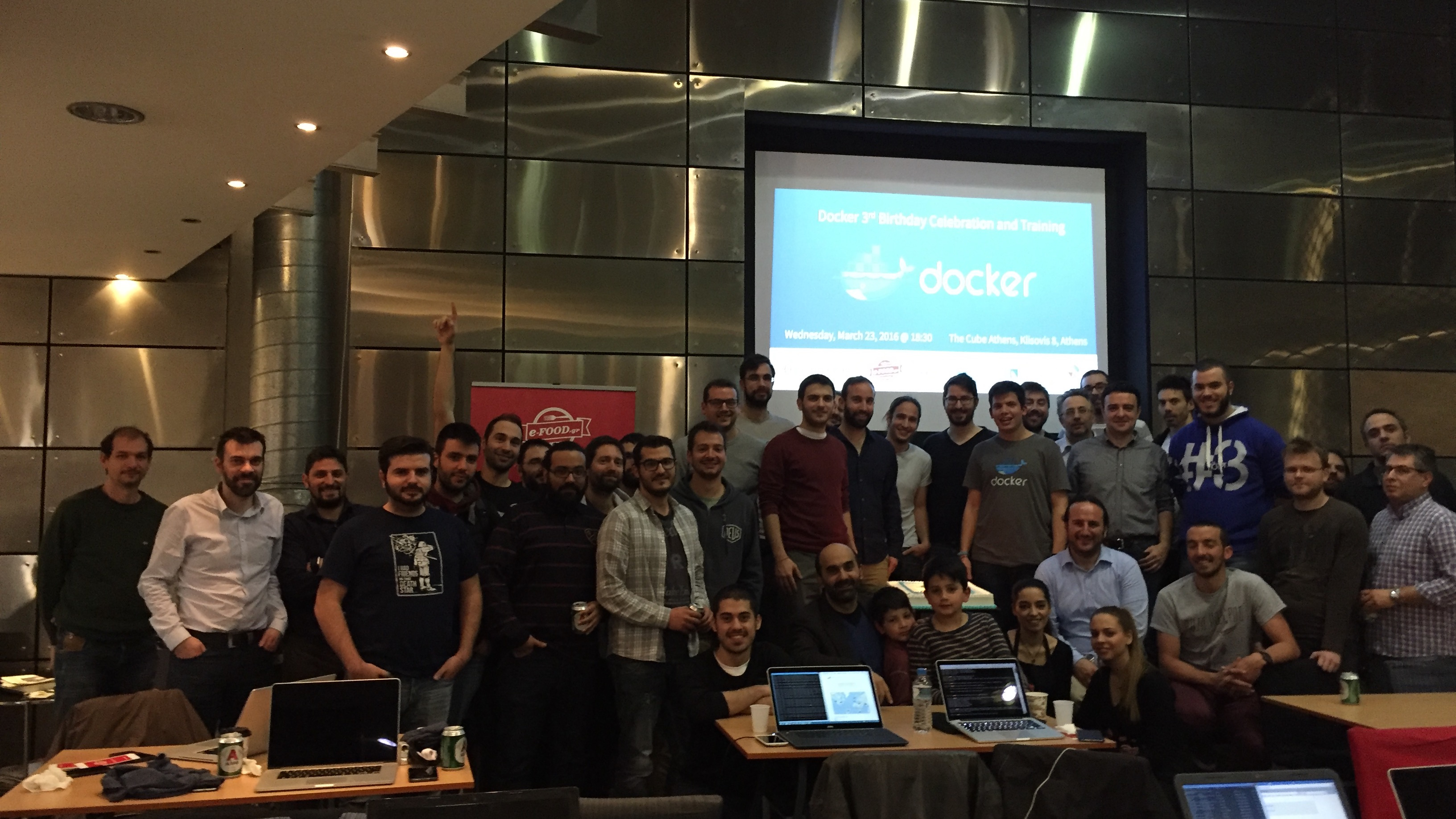 Dockers at Docker Athens
